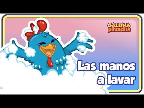 LAS MANOS A LAVAR Gallina Pintadita 3 OFICIAL Español