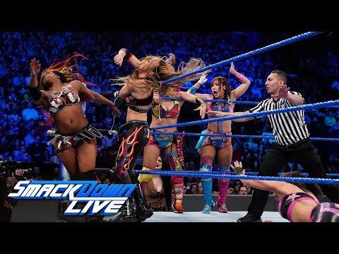 Xxx Mp4 Asuka Sane Bayley Amp Moon Vs The IIconics Rose Amp Deville SmackDown LIVE April 16 2019 3gp Sex