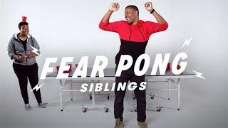 Siblings Play Fear Pong (Joy vs. Raft)   Fear Pong   Cut