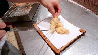 How to make Tempura - Sea bream tempura recipe - 鯛の天ぷら