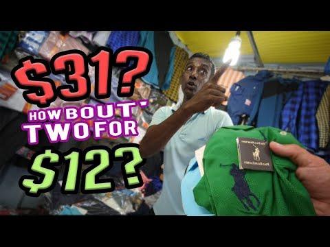 Sri Lanka Knockoff Market Spree