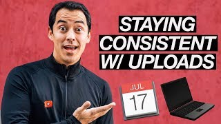 How to be Consistent on Youtube-  Simple 4 Step Strategy