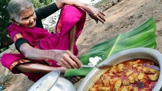 My 105 years Grandma's Village Style Fish Recipe | Traditional Fish Curry | Country Foods