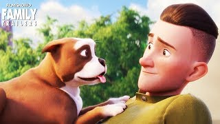 SGT. STUBBY: An American Hero | First look trailer for animated family movie