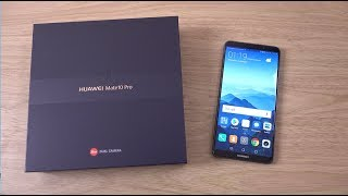 Huawei Mate 10 Pro - Unboxing (4K)