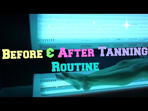 Before & After Tanning Routine!