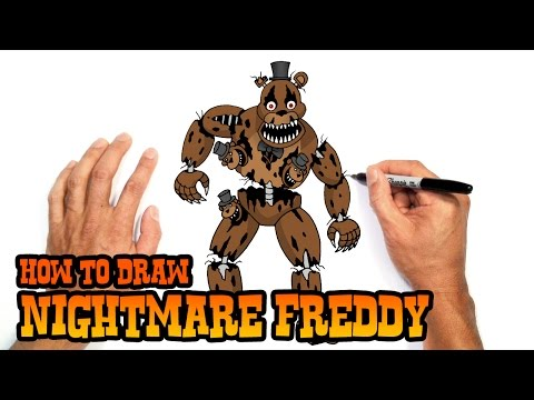 Xxx Mp4 How To Draw Nightmare Freddy Five Nights At Freddy 39 S 3gp Sex