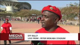 Godrich Gardee on EFF final rally ahead of LGE 2016