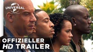 Fast & Furious 7 - Trailer #1 deutsch / german HD