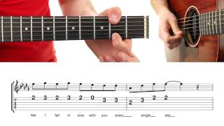 ► Thinking Out Loud - Ed Sheeran ★ (EASY MELODY) Guitar Lesson ★ Tutorial