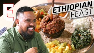 How Injera Bread Brings Together a Traditional Ethiopian Meal — Cooking in America