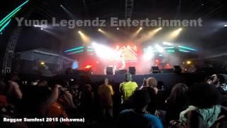 ISHAWNA PERFORMING LIVE AT REGGAE SUMFEST 2015