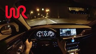 2017 Genesis G90 AWD 3.3T Premium - WR TV POV Night Drive
