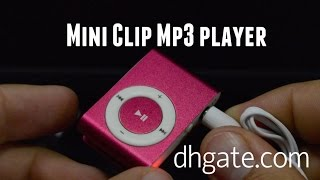 Mini Clip Mp3 player from DHgate.com