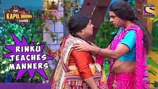 Rinku Talks About Manners - The Kapil Sharma Show
