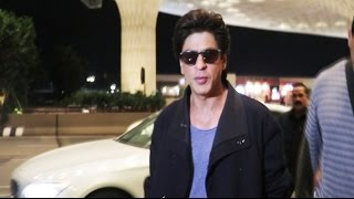 Shahrukh Khan Off To Vancouver For TEDtalks, Spotted At Airport