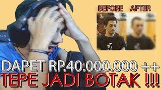 DONATION RP 40JT ++ REACT DAN TEPE BOTAK   Haters Dilarang Masuk !!