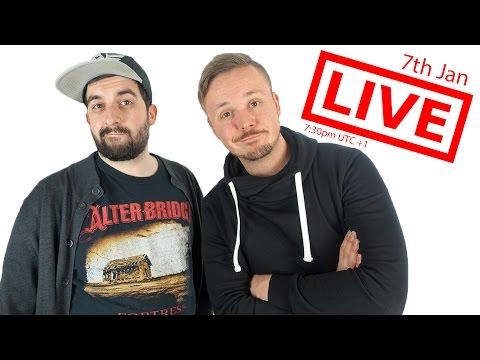 FIRST 2017 LIVESTREAM w/ Get Germanized And VlogDave