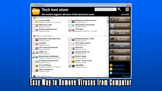 Easy Way to Remove Viruses from Computer