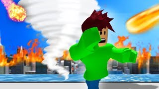 RUN FROM THE TORNADO! (Roblox)