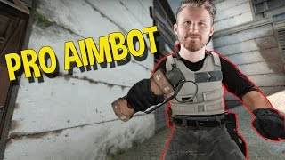 CS:GO SILVER AIMBOT, PROFESSIONAL FLASH BANG HACKER (OVERWATCH FUNNY MOMENTS)
