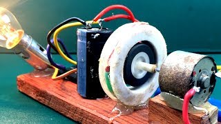Free energy device - Self running Machine & Wire generator at Home very easy