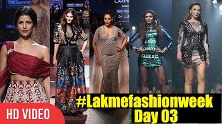 lakme Fashion Week Summer Resort 2017 Day 03 | Bipasha, Nimrat, Iulia, Vaani, Karishma | #Lakme2017