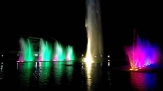 بزرگترین آبنمای موزیکال ایران در شهر رشت پارک ملت