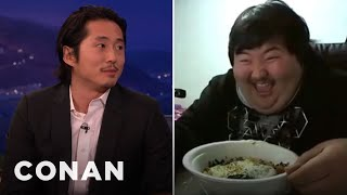 Steven Yeun Is Obsessed With Korean Peter Griffin  - CONAN on TBS