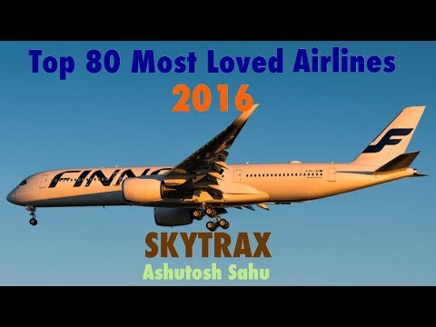 Top 80 Most Loved Airlines 2016 (SKYTRAX)
