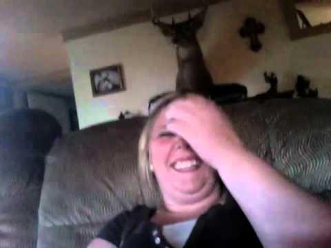 Mom pee's on herself!