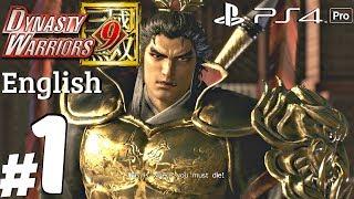 Dynasty Warriors 9 - Gameplay Walkthrough Part 1 - Lu Bu Story [PS4 Pro]