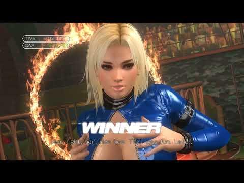 Xxx Mp4 Dead Or Alive 5 Arcade Tina Blue PVC Leotard Mod JIGGLE Ryona 3gp Sex