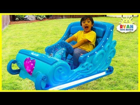 Xxx Mp4 Disney Frozen Sleigh Ride On Power Wheels For Kids 3gp Sex