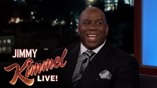 Magic Johnson Reveals if He Has Ever Smoked Pot