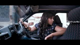 Hot Actress Anjali hot boobs press and kissing in car