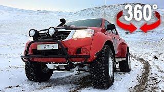 360°-Video: Arctic Trucks: So fährt man im Tiefschnee Auto