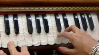 Parts and functioning of the harmonium (basics/ overview)