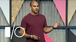 Material improvements - Google I/O 2016