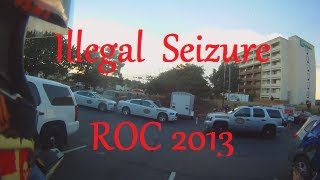 Illegal Police Seizure of Motorcycles ROC 2013