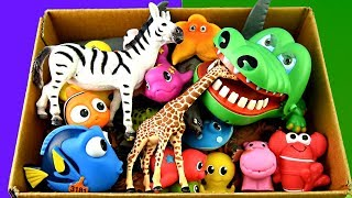 Learn Wild Zoo Animal Toys For Kids Learn Colors Learn Animal Names