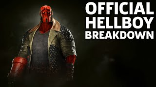 Injustice 2 Gameplay: Official Hellboy Moveset And Breakdown