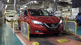 2018 Nissan Leaf Production at the Oppama Plant, Japan