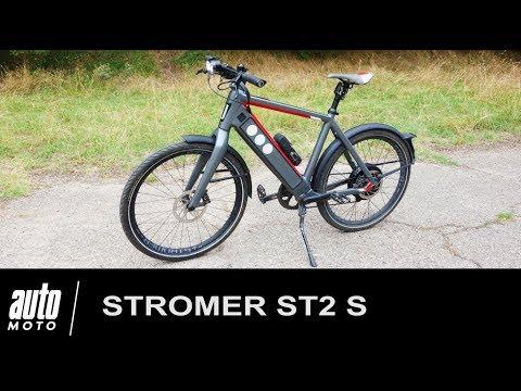 Stromer ST2 S Vélo électrique de luxe ESSAI Auto Moto