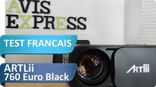 Test du projecteur Artlii 760 euro black - Est-il le meilleur 720P à LED ?