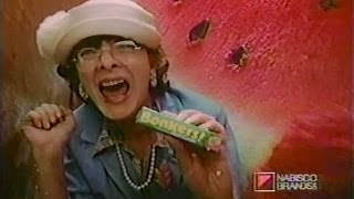 Bonkers watermelon candy commercial (1985)
