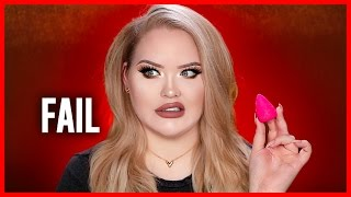 SILICONE BEAUTYBLENDER?! Trying an Evie Blender for Foundation!