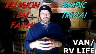 VAN/RV LIFE | Religion & Faith! Music Trivia!