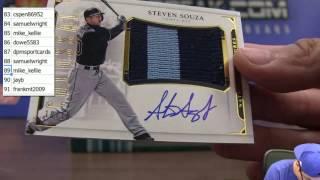 6/26 - 2016 National Treasures NT Baseball 2 Box Break Random Number #9