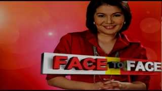 Face To Face 14 - Episode: Friday, September 14, 2012 - Video Replay - Pinoy TV